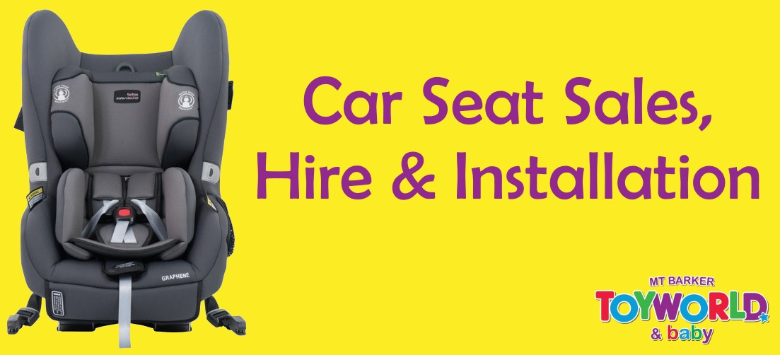 Car Seat Sales, Hire and Install